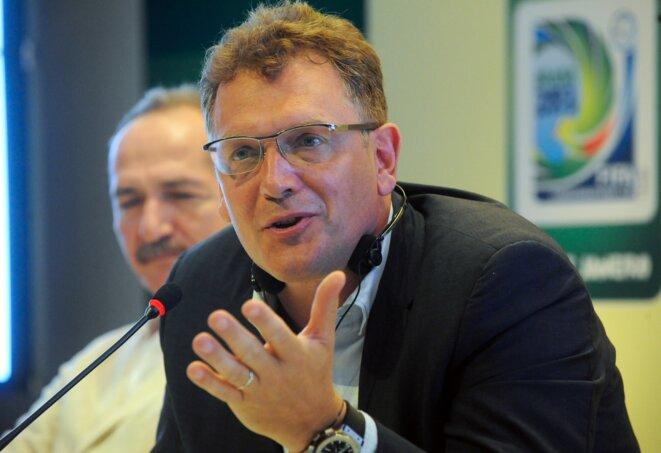 Jérôme Valcke a été le secrétaire général de la Fifa jusqu'en 2015. © Wikimedia / Creative Commons
