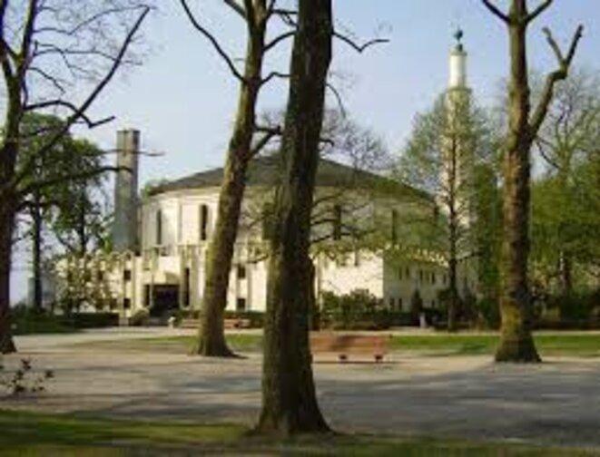 La mosquée du Cinquantenaire(Bruxelles)
