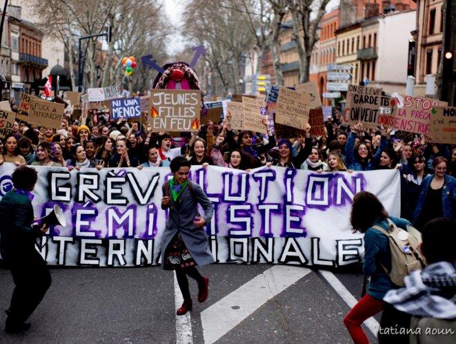 Photo 8 Mars Toulouse © Tatiana Aoun