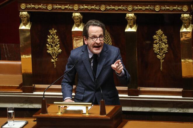 Gilles Le Gendre, patron du groupe LREM à l'Assemblée nationale, semble indifférent à la problématique du harcèlement. © AFP