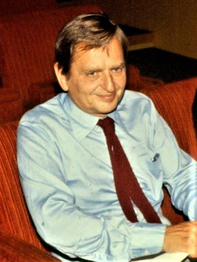 Olof Palme en 1978. © Wiki Commons