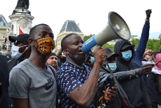 Place de la République, Paris, 13 juin 2020. © Samuel Clauzier