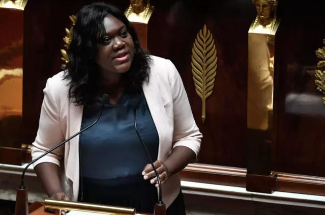La députée Laetitia Avia (LREM), à l'Assemblée nationale, en juillet 2019. © STEPHANE DE SAKUTIN / AFP