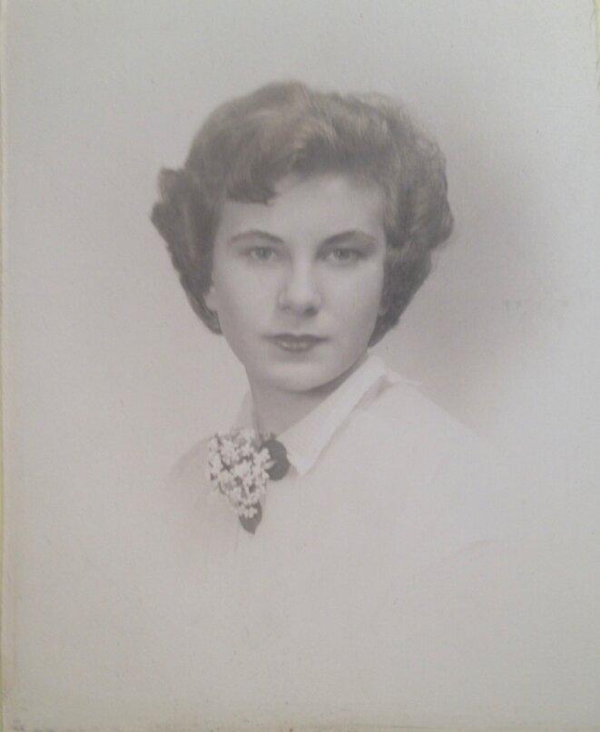My Mother, Philadelphia, 1956