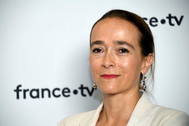Delphine Ernotte, présidente de France Télévisions, en août 2018. © Bertrand Guay / AFP