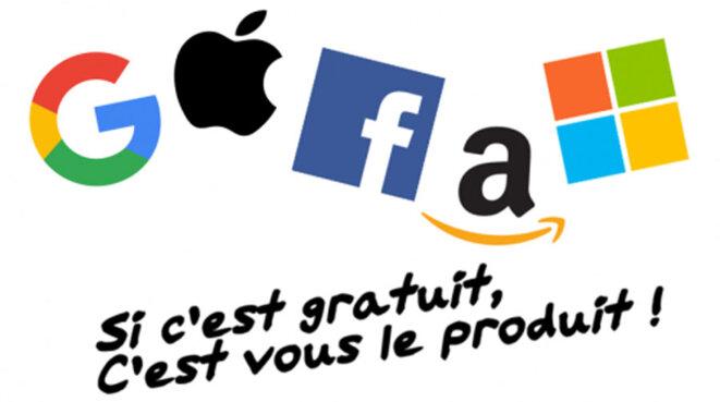 Les GAFAM (Google, Apple, Facebook, Amazon, Microsoft)