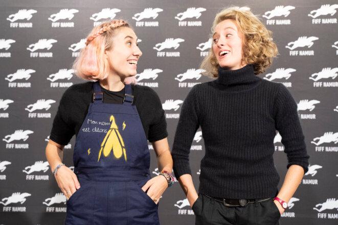 Daphné Leblond et Lisa Billuart Monet (de gauche à droite) © Zoé Piret