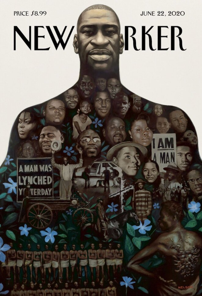 George Floyd en couverture du © New-Yorker