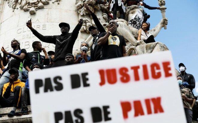 manifestation du 13 juin 2020 contre les violences policières © Olivier Corsan - LP
