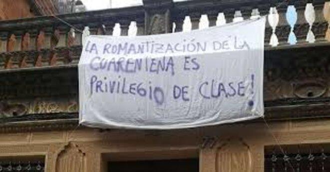'Le romantisme de la quarantaine est un privilège de classe'   Photo: MIRCO (Multilingüismo Discurso y Comunicación)