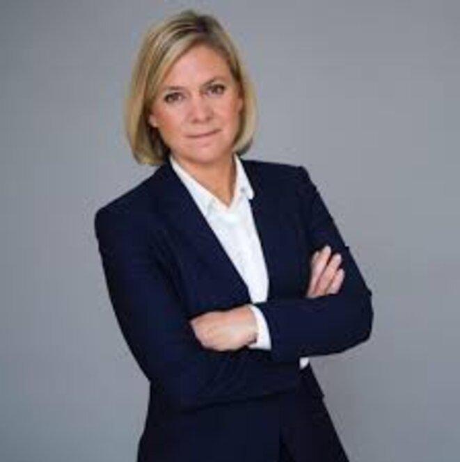 Magdalena Andersson, ministre des Finances en Suède