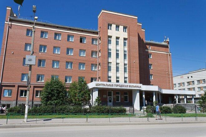 L'hôpital central de la ville d'Iskitim © Evgeny54 (Wikicommons)