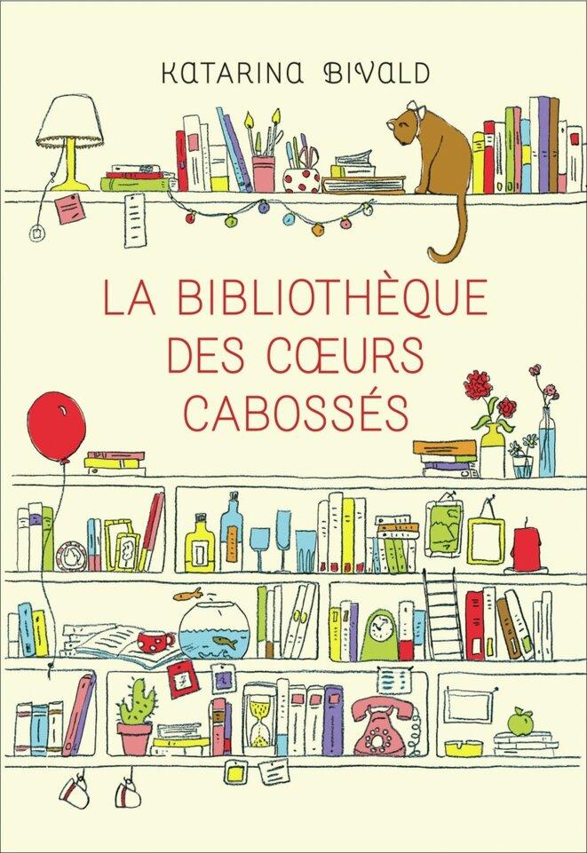 Première de couverture - Katarina Bivald - La bibliothèque des coeurs cabossés © Constance Clavel