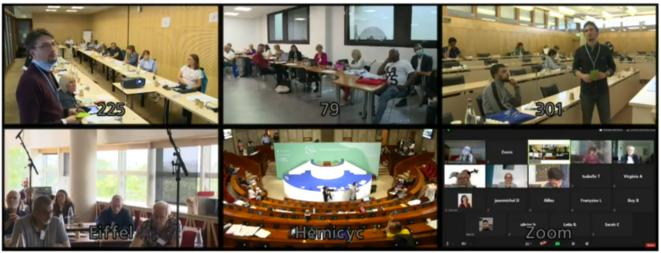 Capture d'écran des débats et vote retransmis en direct ce dimanche 21 juin sur le site internet de la Convention citoyenne pour le Climat.