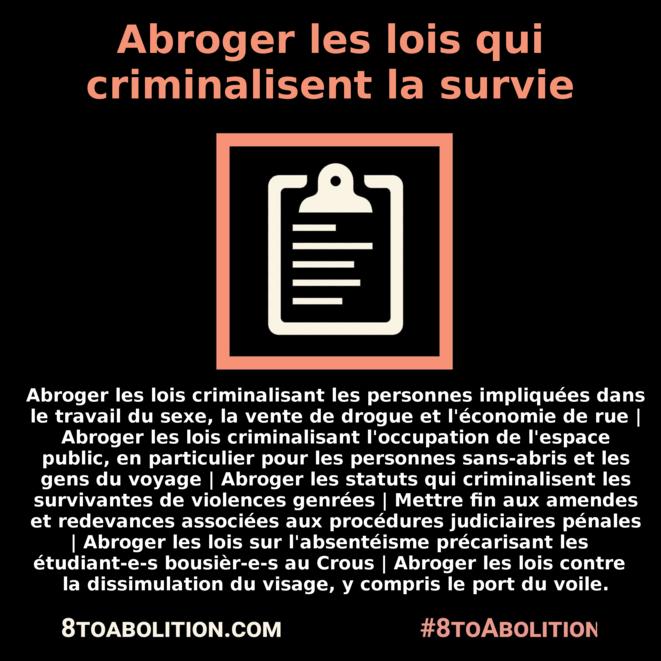 8ToAbolition.com © #8ToAbolition /Anarchaud
