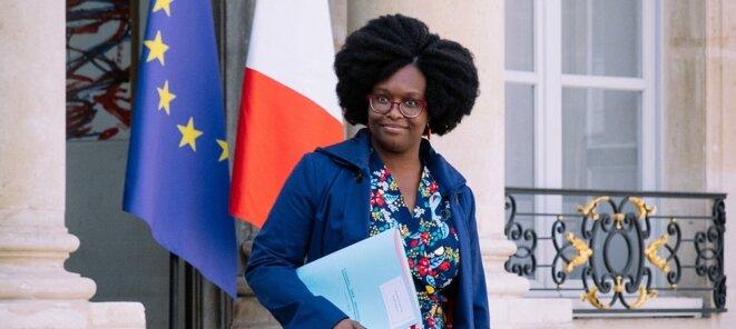 Madame Sibeth NDIAYE, Secrétaire d'État auprès du Premier ministre, porte-parole du Gouvernement © Gouvernement Français