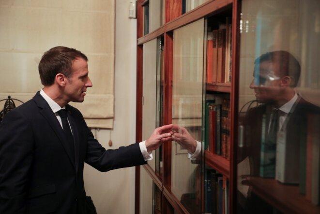 Emmanuel Macron à Buenos Aires (Argentine), en novembre 2018. © AFP