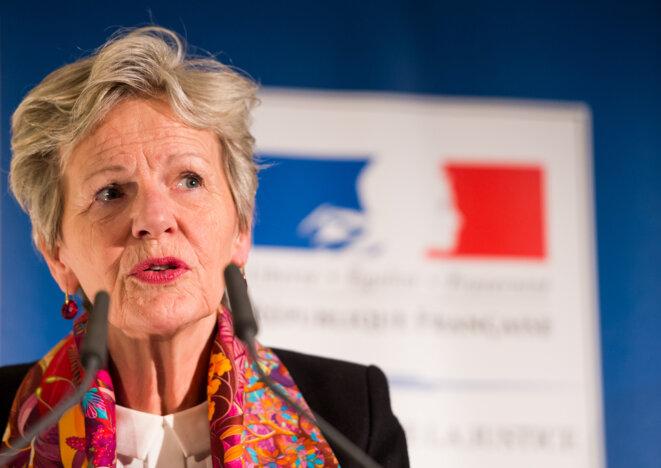 Éliane Houlette, ancienne procureure du PNF. © Lukas Barth / AFP