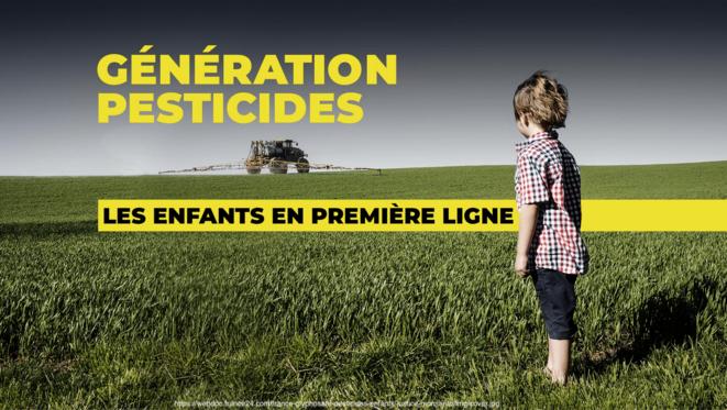 Génération pesticides - les enfants en première ligne © france24