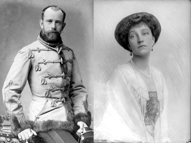 Rodolphe d'Autriche (Laxenburg 21.08.1858 – Mayerling 30.01.1889) – Elisabeth-Marie d'Autriche (Laxenburg 02.09.1883 – Vienne 16.03.1963)