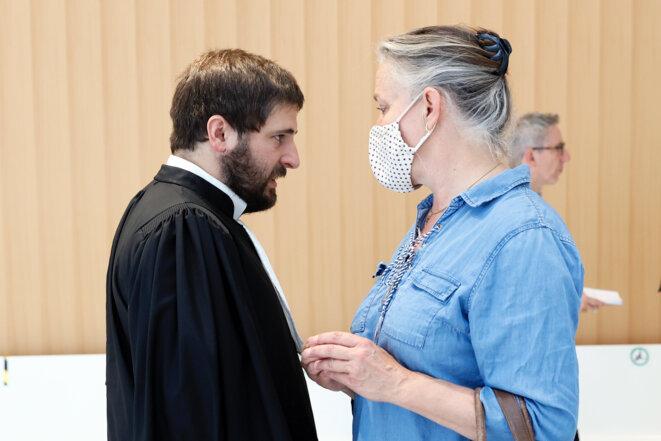 Le 24 juin au tribunal de Paris. © Thomas Samson / AFP