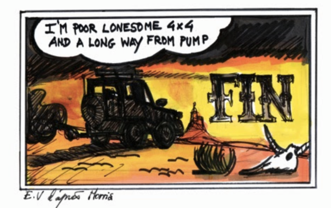 I'm a poor and lonesome 4x4 … © JMA-EV