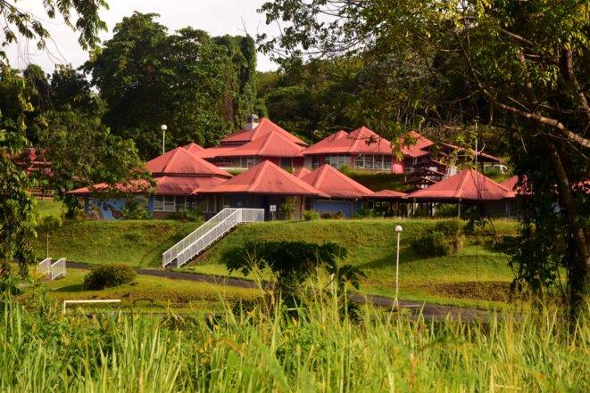 L'institut médico-éducatif départemental de Guyane, en juin 2020. © MB