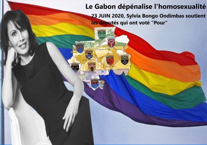 Gabon. Sylvia Bongo Ondimba