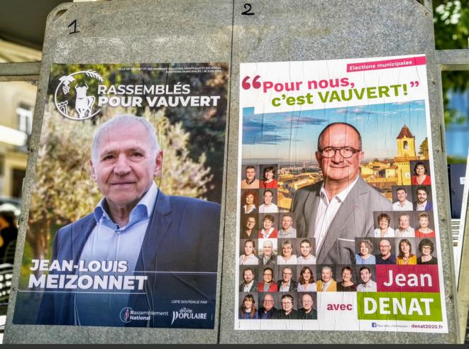 À Vauvert, en juin 2020. © Le D'OC