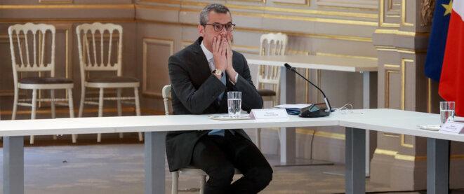 Alexis Kohler le mercredi 24 juin à l'Élysée. © Ludovic Marin / AFP