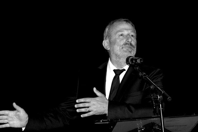 François Pupponi, alors député-maire encore PS, en 2018. © Luc Bentz (publication placée ici sous licence Creative commons CC-BY-SA-NC int. 4.0).