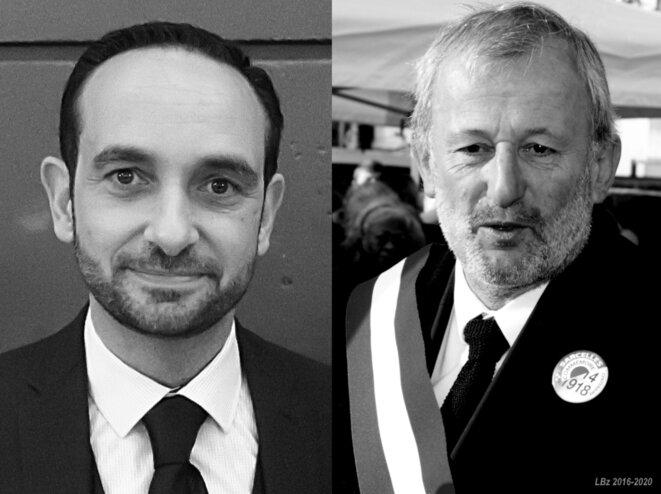 Patrick Haddad, maire PS sortant (janvier 2020). François Pupponi, alors député-maire PS, le 11/11/2016. © Luc Bentz (publication placée ici sous licence Creative commons CC-BY-SA-NC int. 4.0).