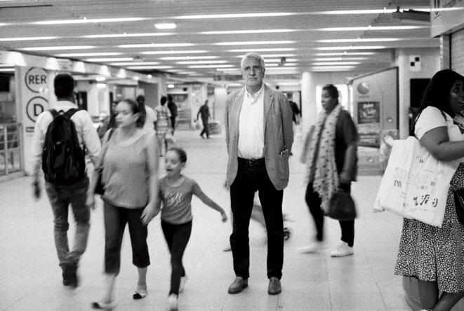 Guy Lemée à la Gare de Lyon, Paris © François Rochon