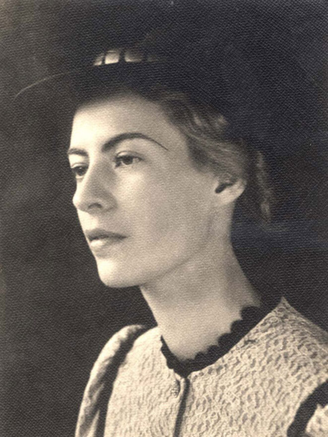Ella Lingens avant sa déportation à Auschwitz/Yad Vashem