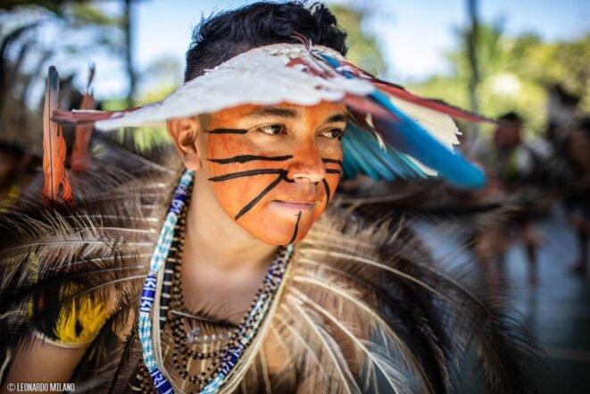 Eloy Terena, conseiller juridique de l'Articulation des peuples autochtones du Brésil (Apib) © Leonardo Milano / Divulgação