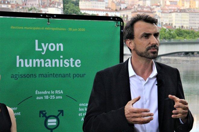 Grégory Doucet. © NB/Mediacités