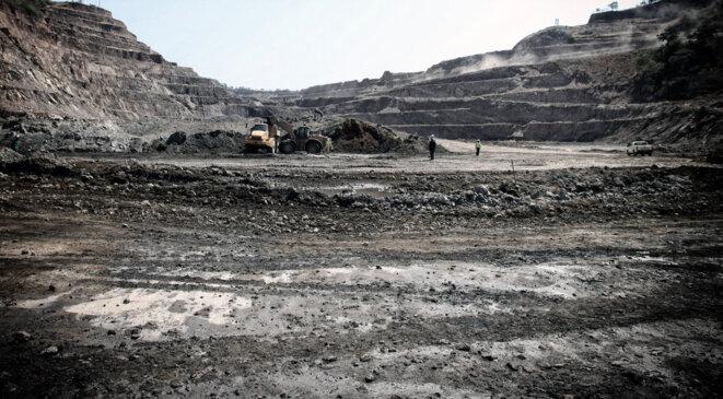 Site minier de la Gécamines © Christophe Rigaud - Afrikarabia