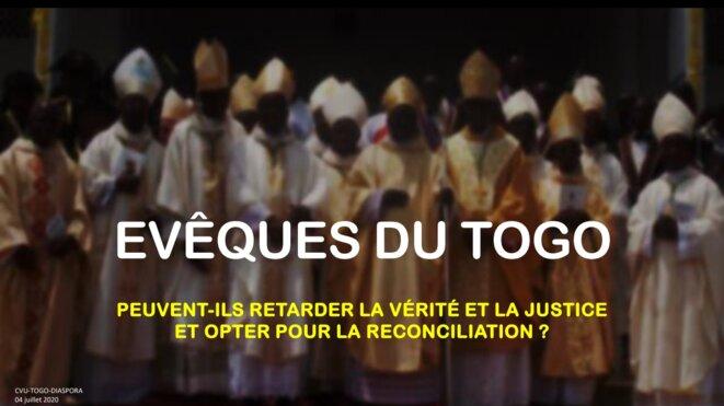 Évêques du Togo: Peuvent-ils retarder la vérité et la Justice et opter pour la réconciliation