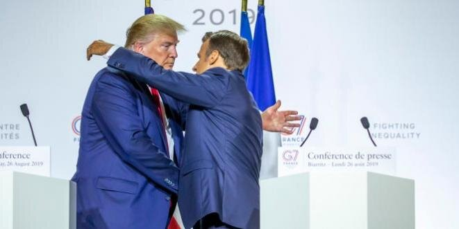 macron-trump-biarritz