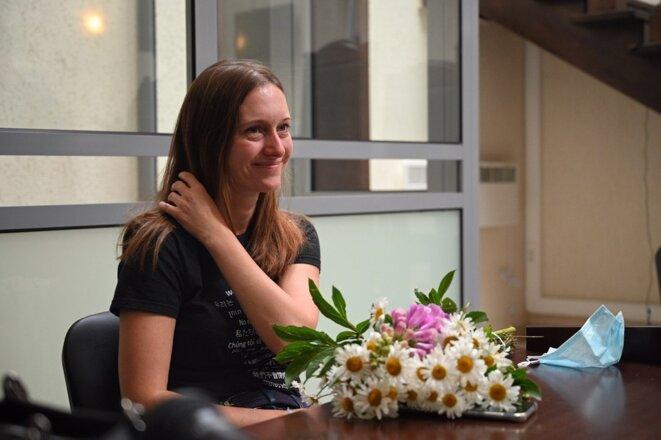 Svetlana Prokopyeva © Georgy Markov pour Novaya Gazeta