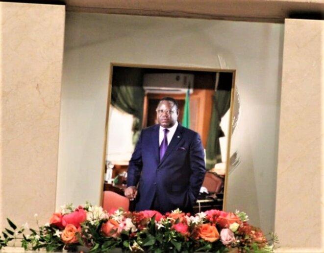 Franck Emmanuel Issoze Ngondet, ancien Premier ministre du Gabon.