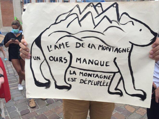 L'Ours est l'âme de la montagne © AB