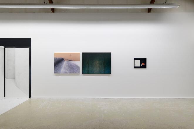 Vue de l'exposition Réversible de Constance Nouvel, Centre photographique d'Ile-de-France, Pontault-Combault, 2020. © Aurélien Mole