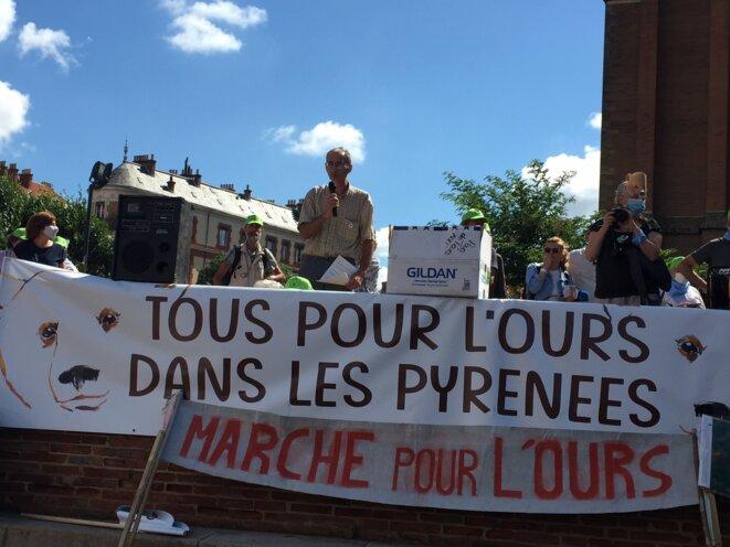 discours du Président de la FNE Midi-Pyrénées © AB