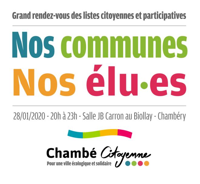 Rendez-vous des listes citoyennes et participatives © Chambé Citoyenne