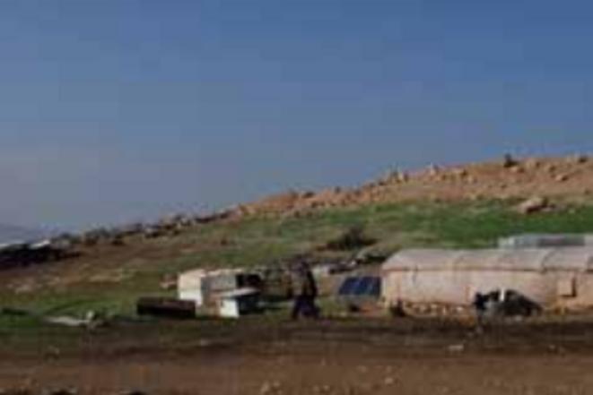 Communauté dans le nord de la vallée du Jourdain