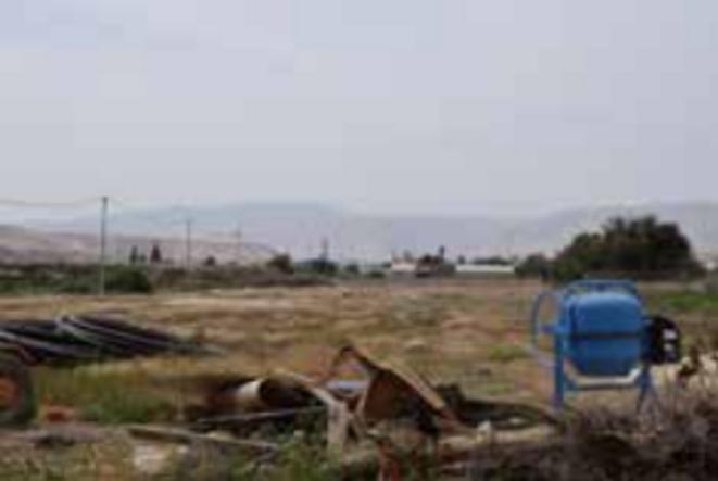 Fermes palestiniennes à Al-Auja