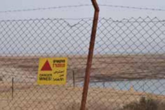 La plage Kalia, interdite d'accès aux Palestiniens