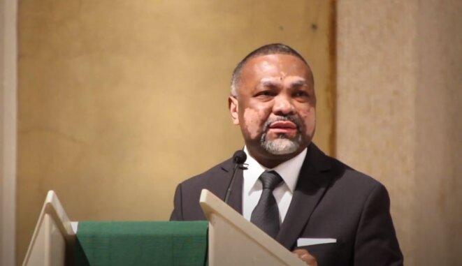 S.E.M Flavien ENONGOUE, Ambassadeur Haut Représentant du Gabon en France. Samedi 4 juillet 2020