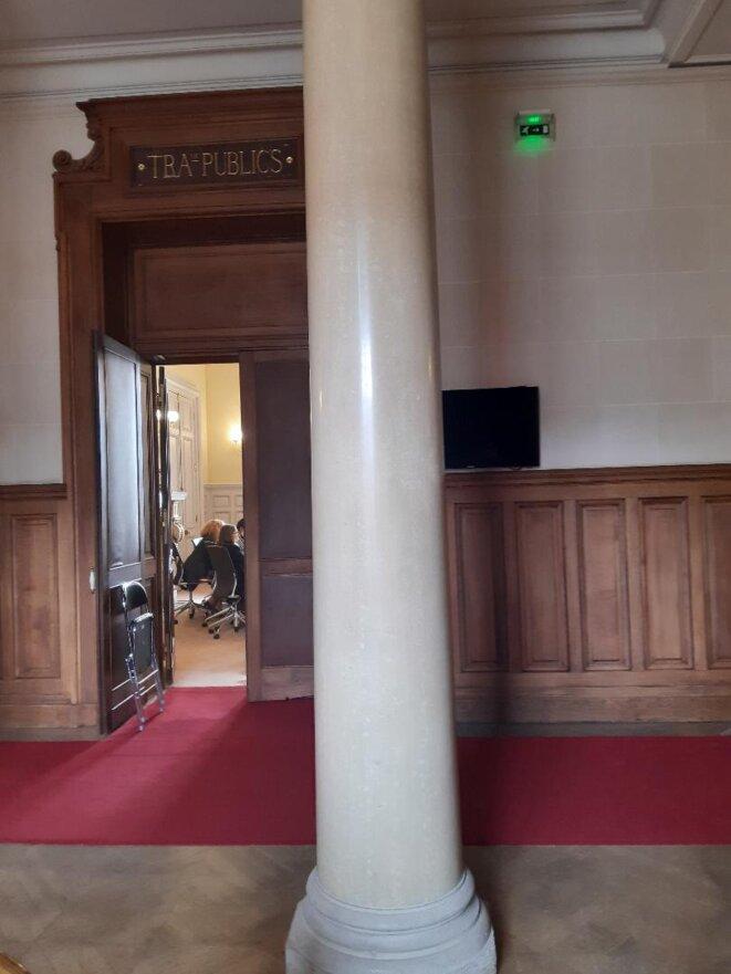 Conseil d'Etat, salle de l'audience publique du 3 juillet 2020 © PC